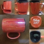 Coffee Mug with Cookie Cubby